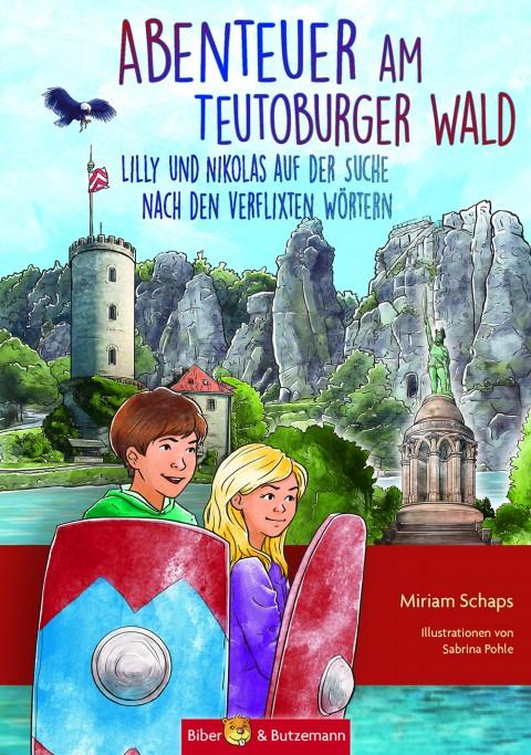 """Kinderbuch """"Abenteuer am Teutoburger Wald - Lilly und Nikolas auf der Suche nach den verflixten Wörtern"""""""